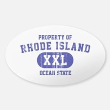 Property of Rhode Island the Ocean State Decal