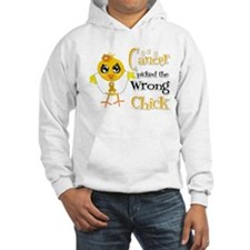 Appendix Cancer Picked The Wrong Chick Hoodie
