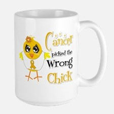 Appendix Cancer Picked The Wrong Chick Mug