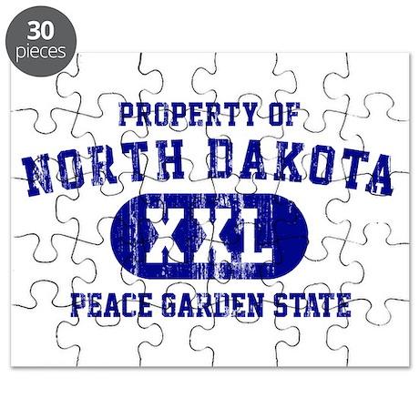 Property of North Dakota the Peace Garden State Pu