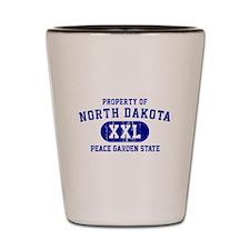 Property of North Dakota the Peace Garden State Sh