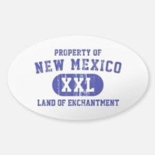Property of New Mexico the Land of Enchantment Sti