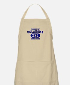 Property of Oklahoma the Sooner State Apron