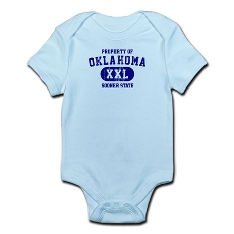 Property of Oklahoma the Sooner State Infant Bodys