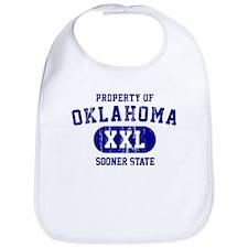 Property of Oklahoma the Sooner State Bib