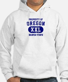 Property of Oregon the Beaver State Hoodie