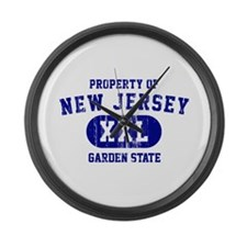 Property of New Jersey the Garden State Large Wall