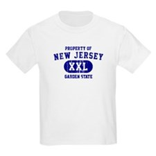Property of New Jersey the Garden State T-Shirt
