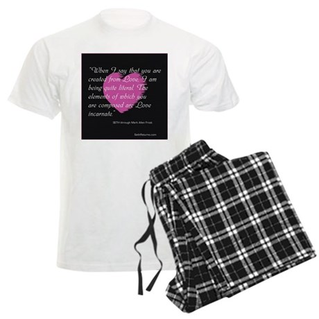 Love Incarnate Men's Light Pajamas