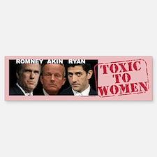 Anti Akin bumper sticker Legitimate Rape