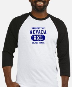 Property of Nevada the Silver State Baseball Jerse
