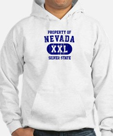 Property of Nevada the Silver State Hoodie