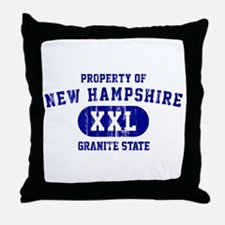 Property of New Hampshire the Granite State Throw