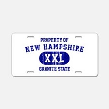 Property of New Hampshire the Granite State Alumin