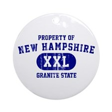 Property of New Hampshire the Granite State Orname