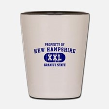 Property of New Hampshire the Granite State Shot G