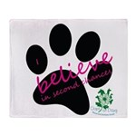 I Believe in Second Chances Throw Blanket
