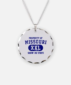 Property of Missouri the Show Me State Necklace