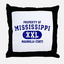 Property of Mississippi the Magnolia State Throw P