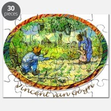 The First Step by Vincent van Gogh. Puzzle