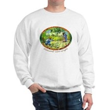 The First Step by Vincent van Gogh. Sweatshirt