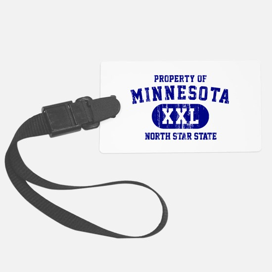 Property of Minnesota, North Star State Luggage Tag