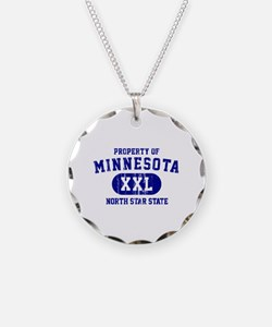 Property of Minnesota, North Star State Necklace