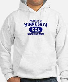 Property of Minnesota, North Star State Hoodie