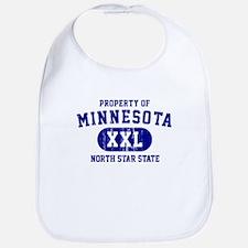 Property of Minnesota, North Star State Bib