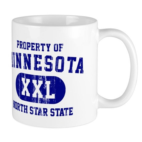 Property of Minnesota, North Star State Mug