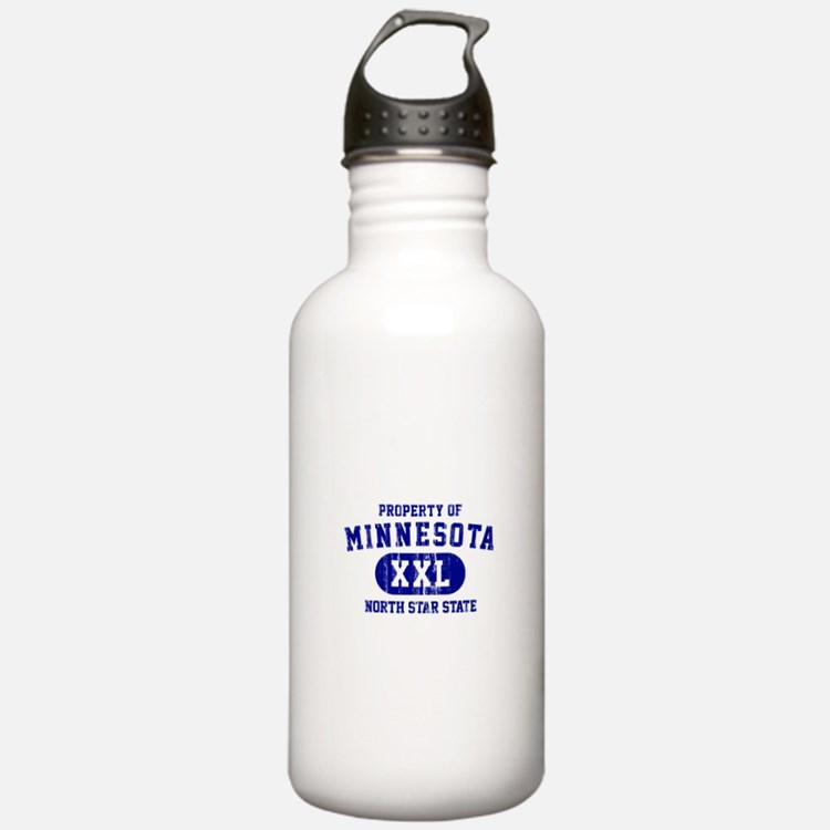 Property of Minnesota, North Star State Water Bottle