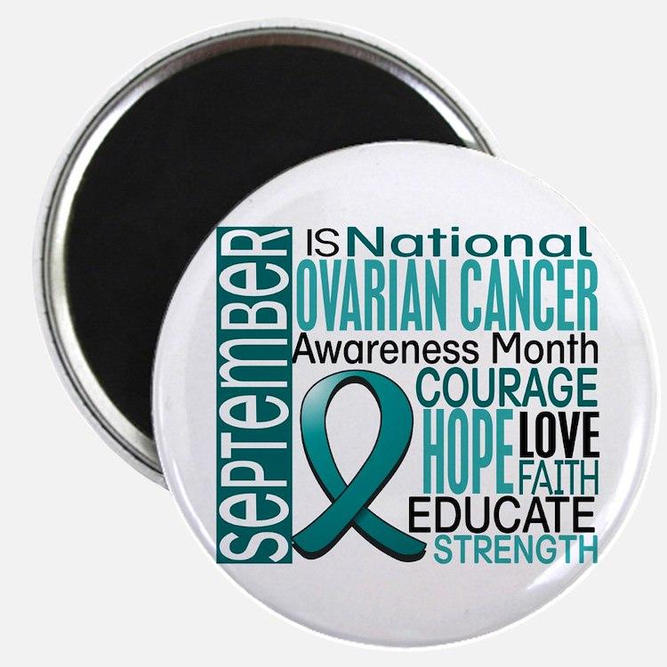 Ovarian Cancer Awareness Month Magnet