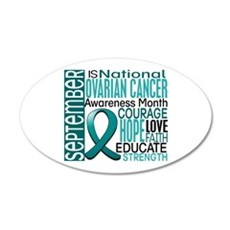 Ovarian Cancer Awareness Month Wall Sticker