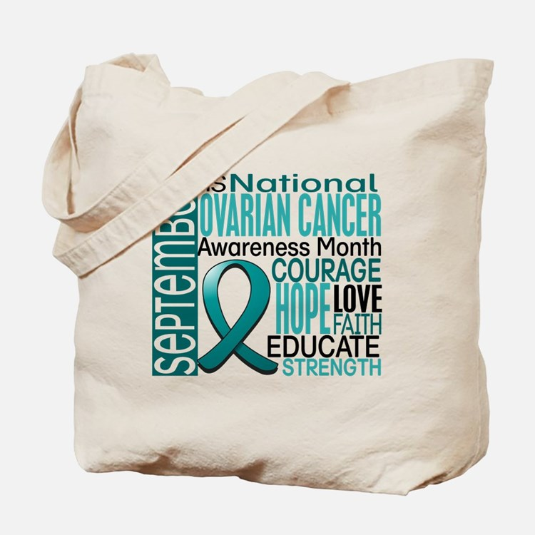 Ovarian Cancer Awareness Month Tote Bag