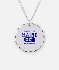 Property of Maine the Vacationland Necklace