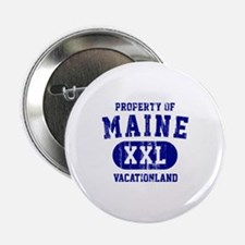 "Property of Maine the Vacationland 2.25"" Button"