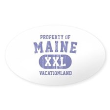 Property of Maine the Vacationland Decal