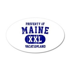Property of Maine the Vacationland Wall Decal