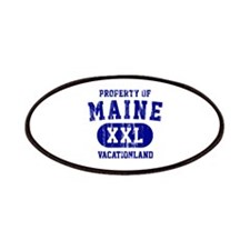 Property of Maine the Vacationland Patches