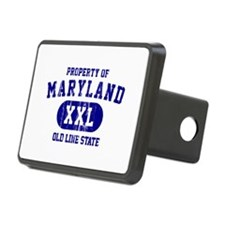 Property of Maryland the Old Line State Rectangula