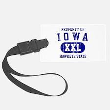 Property of Iowa the Hawkeye State Luggage Tag