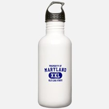 Property of Maryland the Old Line State Water Bottle