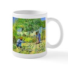 The First Step by Vincent van Gogh. Mug