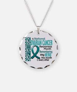Ovarian Cancer Awareness Month Necklace