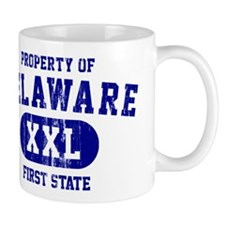 Property of Delaware the First State Mug