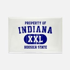 Property of Indiana the Hoosier State Rectangle Ma