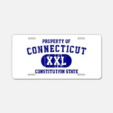 Property of Connecticut the Constitution State Alu