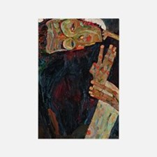 Schiele - The Lyricist Rectangle Magnet