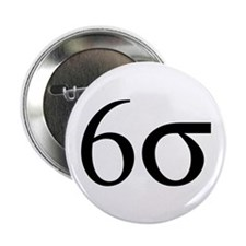 "Six Sigma 2.25"" Button"