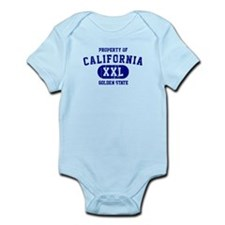 Property of California the Golden State Infant Bod